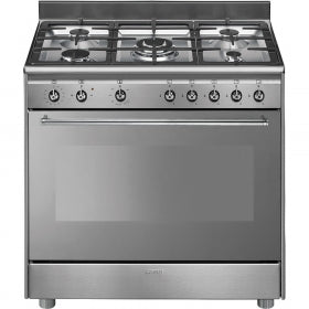 Smeg 90cm Concert Full Gas 5Burner