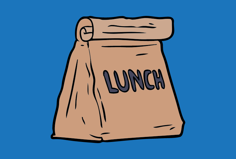 Lunch Bags, Adult, case of 8