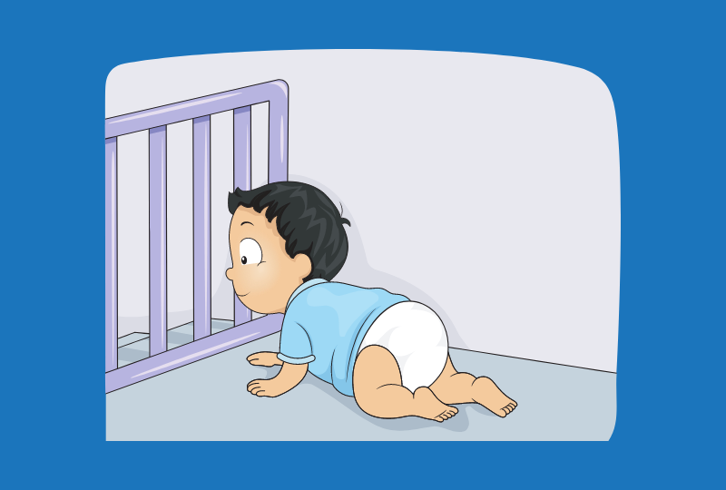 Baby Gate- Position & Lock
