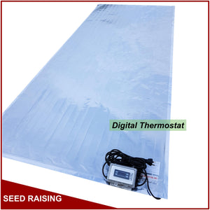 Electric Foil Heat Mat with Dial Thermostat