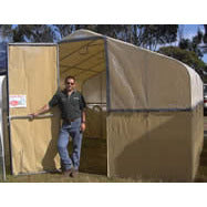 "Shade House - 2400mm (8"") Wide, 2300mm High -Adloheat-Horticultural-And-Agricultural-Products"