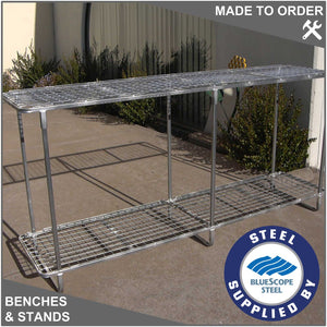 Double Layer Flat Plant Bench