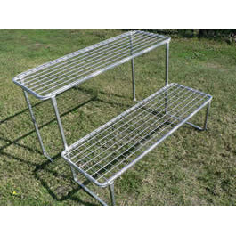 2 Shelf Plant Stand (Flat Pack) -Adloheat-Horticultural-And-Agricultural-Products