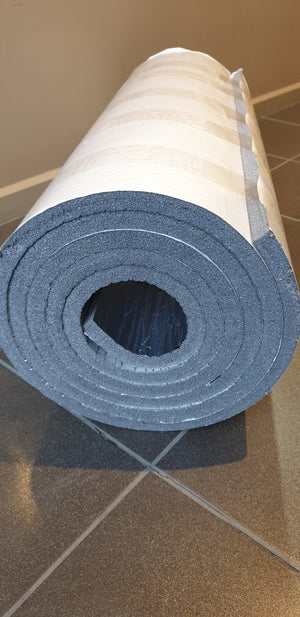 Electric Foil Heat Mat with Thermostat, Foam Insulation and Solashield Covering Film