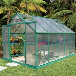 Polycarbonate Hot House - 8ft (2.6m) Wide Series -Adloheat-Horticultural-And-Agricultural-Products