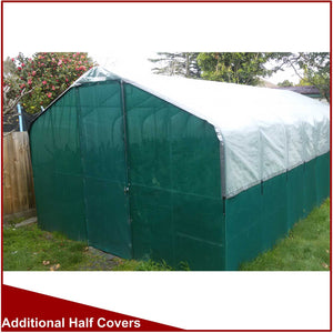 Solashield Half Covers for 3000mm (10') Wide Greenhouses