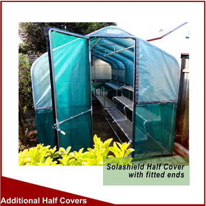 Solashield Half Covers for 3600mm (12') Wide Greenhouses
