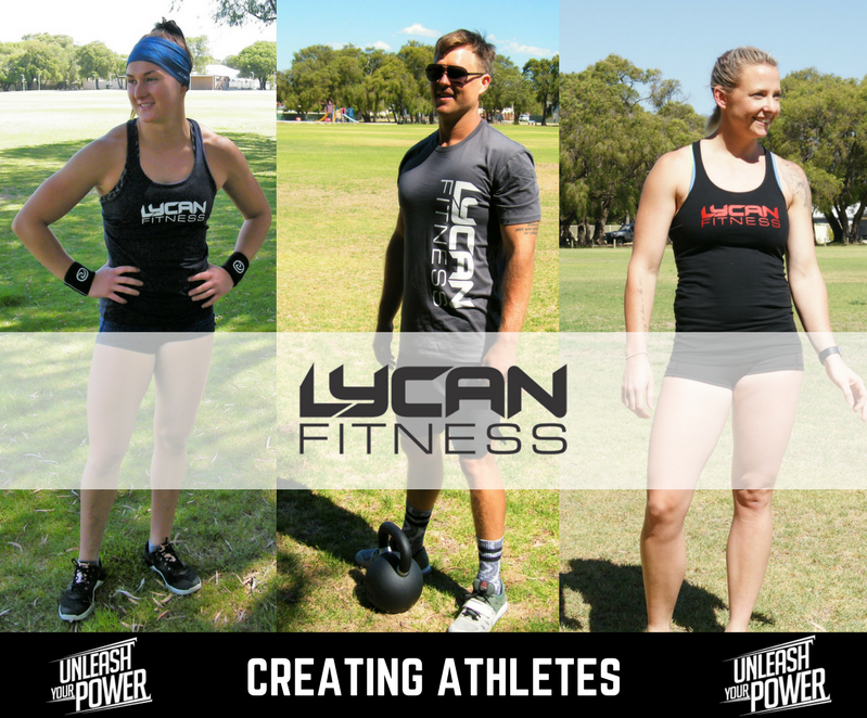 Another WOD from our friends at LYCAN Fitness