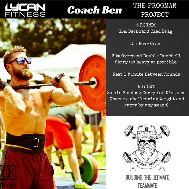 Meet Coach Ben from the Frogman Project