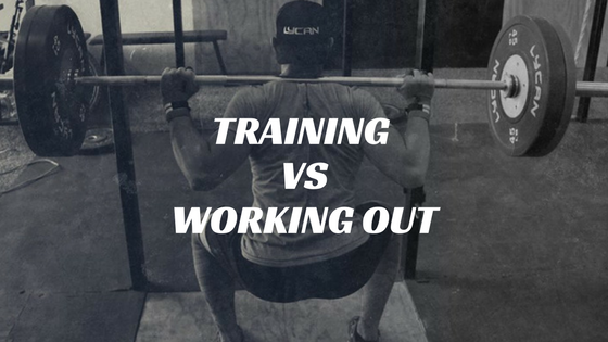 Training Vs Working Out