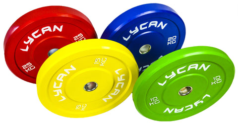 Colour Rubber Bumper Plates