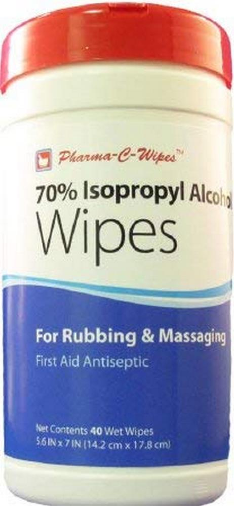 Pharma-C-Wipes 70% Isopropyl Alcohol First Aid Wipe