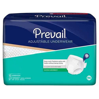 Prevail® Adjustable Underwear Super Plus