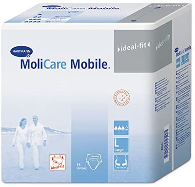 MoliCare Mobile Underwear, Extra, Large, Pack/14