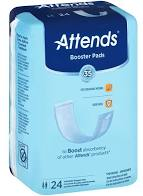 Attends Light Insert Pads - Light Absorbency