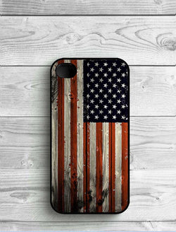 Wooden American Phone Cover For iPhone 4 4s SE 5 5s 5 c 6 6s 6plus 7 7Plus - New York Looks