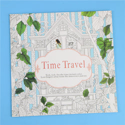 Coloring Books / Time Traveler / 24 Pages - New York Looks