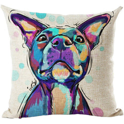 2017 Dog Cushion Cover - Charlie - 45 X 45CM - New York Looks
