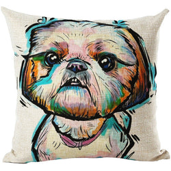 2017 Dog Cushion Cover - Chappy - 45 X 45CM - New York Looks