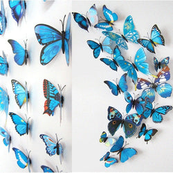 3D Butterflies Magnet / Wall Stickers - New York Looks