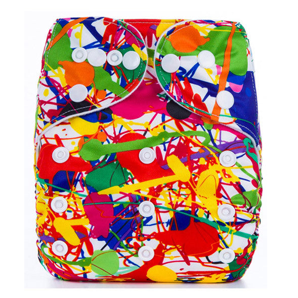 Cloth Nappy - Washable Reusable - Wrap Diapers Cover Pocket - New York Looks