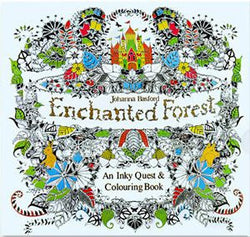 Coloring Books / Enchanted Forest / 24 Pages - New York Looks