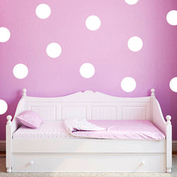 20pcs / 54pcs Polka Dots Wall Sticker Nursery Stickers - New York Looks