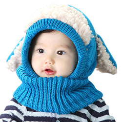 Winter Baby Hat and Scarf - New York Looks