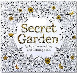 Coloring Books / Secret Garden / 24 Pages - New York Looks