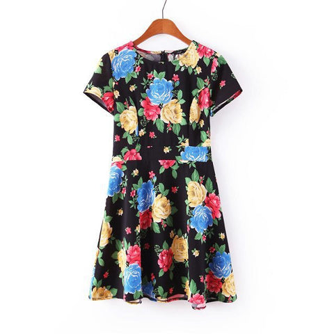 Women Floral Dress 2016 - New York Looks