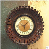 Kingart Wood Wall Clock Handmade Bamboo Kitchen Clock - GT Bamboo and More