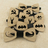 Hot Wood Fashion Men Wooden Bow Tie Accessory Bamboo Fiber Bow Tie - GT Bamboo and More