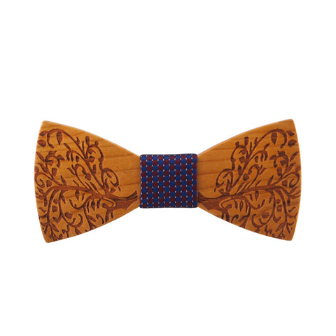 Mantieqingway Brand Wooden Bow Tie Party Shirts Pocket Square Bamboo Bow Knot - GT Bamboo and More