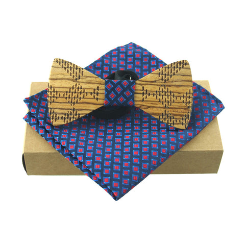 Mantieqingway Wooden Bowties Bamboo Fashion Men or Women - GT Bamboo and More