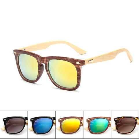 Classic Handmade Bamboo Sunglasses Retro Vintage Wooden women men nail Original Wooden uv400 unisex sun glasses - GT Bamboo and More