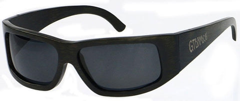 GT Bamboo Polarized Sport Bamboo Sunglasses wide frame - GT Bamboo and More