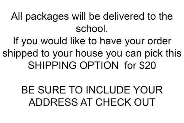 Shipping Option