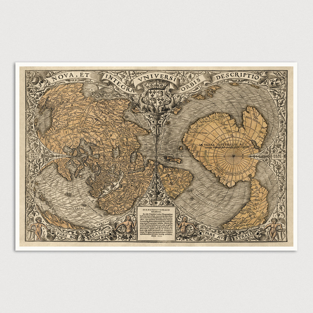 World Antique Map Print (1531)