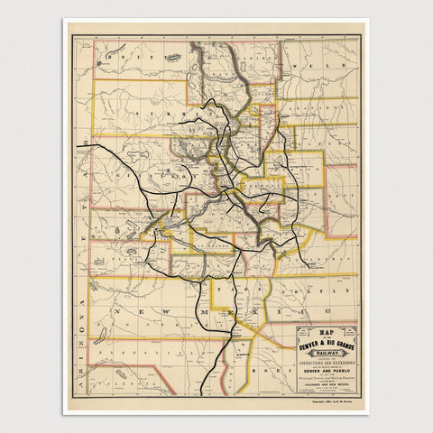 Western US Maps – Blue Monocle