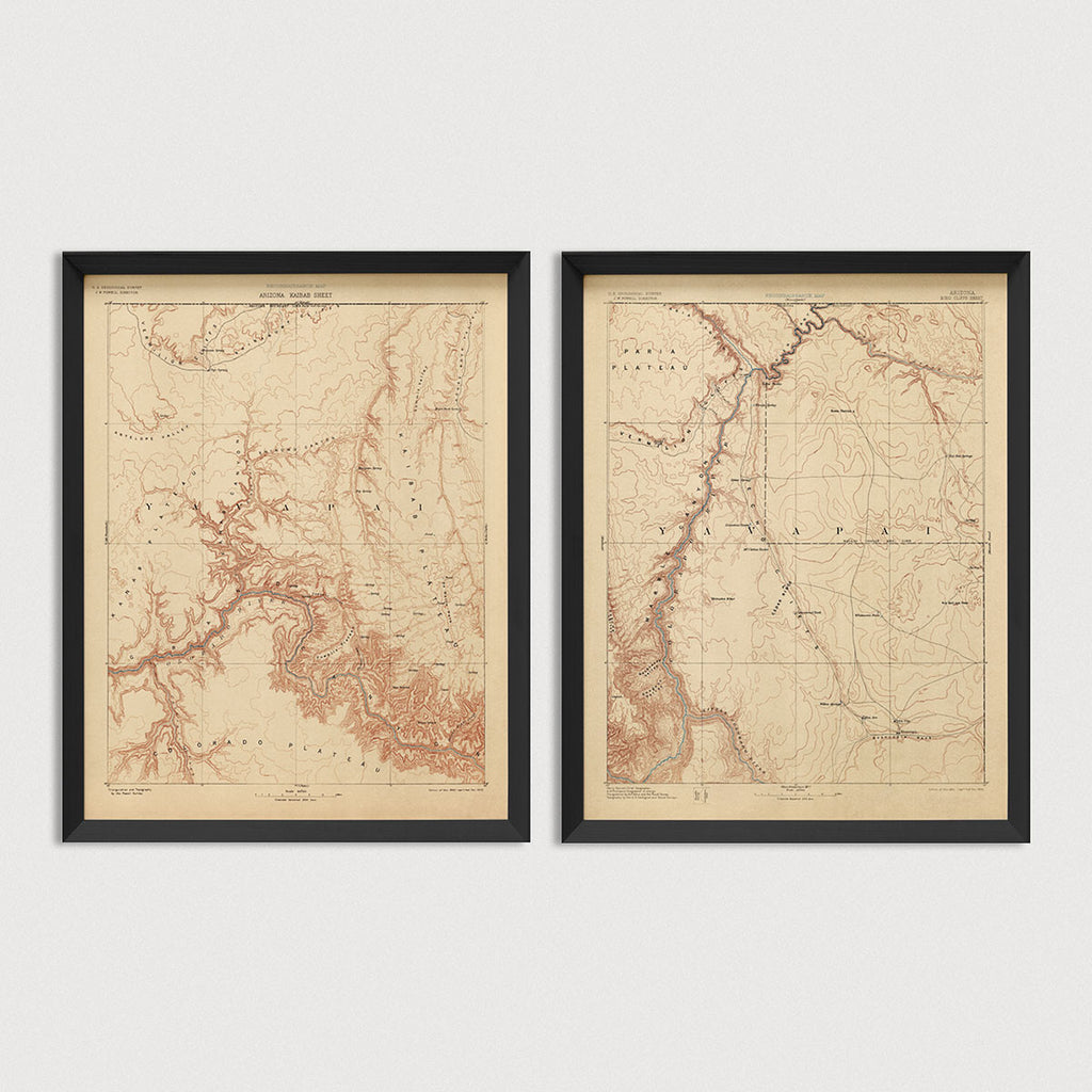 USGS Topographic Maps of the Grand Canyon (c1903)