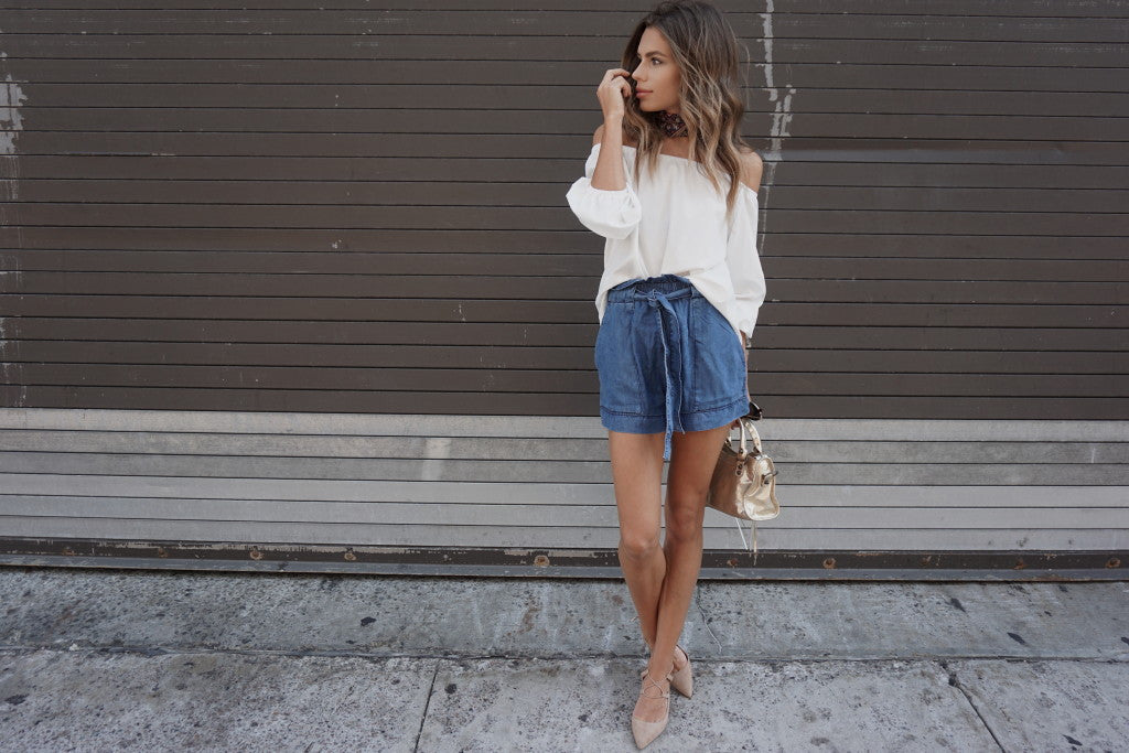 The Bowery Off Shoulder Top