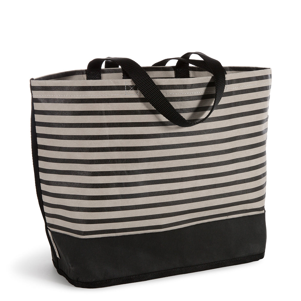 the Stripe Colorblock tote: MD