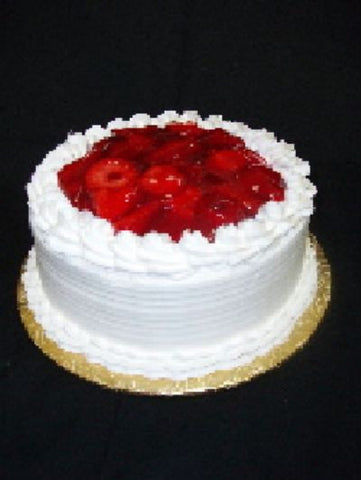 "Strawberry Shortcake 8"" Round - Available Today - CALL TO CONFIRM BEFORE ORDERING"