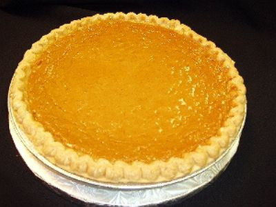 Sweet Potato Pie - Available Today - CALL TO CONFIRM BEFORE ORDERING