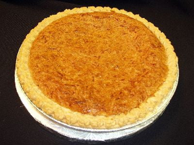 Lemon-Coconut Buttermilk Pie - Chess Pie