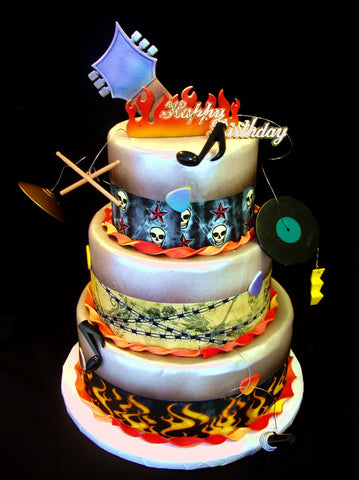 Inspired by Duff Goldman - Rock Star