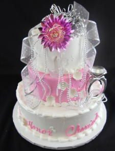 Engagement Ring Celebration Tier Cake
