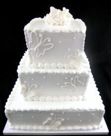 Butterflies Premier Wedding Cake