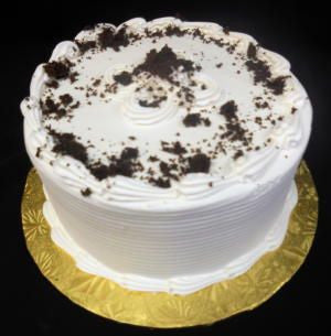 Chocolate Cake with White Buttercream Frosting