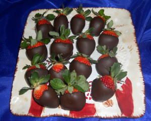 Chocolate Dipped Strawberries Lb.